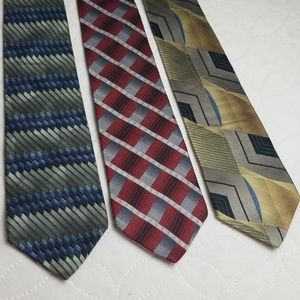 Murano lot of 3 ties